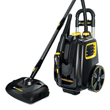 McCulloch MC1385 Deluxe Canister Steam Cleaner with 23 Accessories, Pressurized