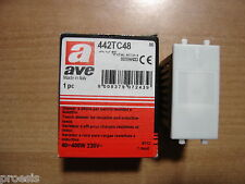 AVE TOUCH 442TC48 dimmer sfioramento carichi resistivi induttivi 400W 400VA