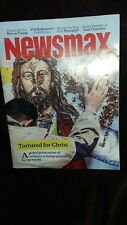 NEWSMAX MAGAZINE TORTURED FOR CHRIST ISSUE-CONSERVATIVE INDEPENDENT-TRUMP-CHRIST