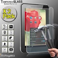 2 Pack Tempered Glass Screen Protector For Alcatel OneTouch Tab 7 Tablet