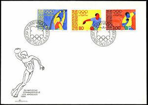 Liechtenstein 1984 Olympic Games Cover #C33523