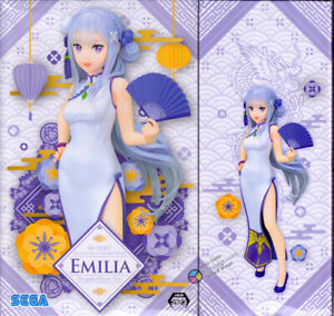 Re:Zero Starting Life in Another World Emilia Dragon Dress Figure Version SEGA