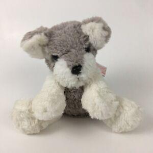 "Barbie Mattel Puppy Dog Plush Gray White 8"" Animated Barking Musical Toy"