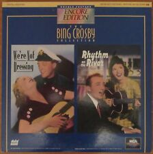 Bing Crosby Double-Feature Laserdisc - We're Not Dressing / Rhythm on the River