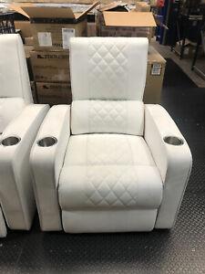 Manhattan Gotham Pro Cinema Seats Chairs White
