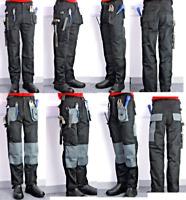 Blackrock Work Wear CARGO COMBAT KNEE PADS Trousers Multi Pocket Trade Pro Pants