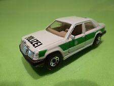MATCHBOX MERCEDES BENZ 300E - POLICE POLIZEI - 1:61 - GOOD CONDITION
