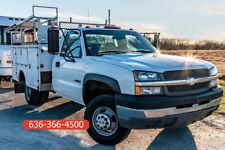 2003 Chevrolet 3500 work Used service utility mechanic work cargo 8.1 v8 truck