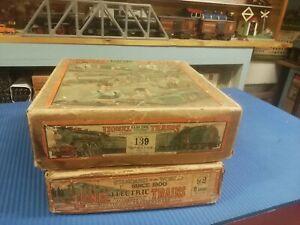 LIONEL PREWAR SET 139 92 BOXES ONLY