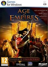 Age Of Empires 3 III The Complete Collection Edition PC DVD Game NEW & SEALED