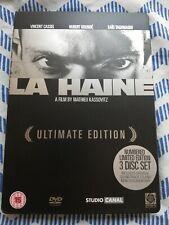 La Haine Ultimate 3 Disc Steelbook, 2006 limited Edition. 4302/10000 VG+ conditi