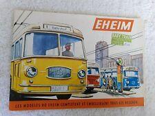 CATALOGUE DE JOUETS TROLLEYBUS , TRAINS ,  EHEIM MARKLIN VB BB TRAIN 1966