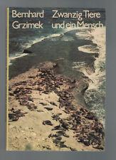 Bernhard Grzimek - Zwanzig Tiere und ein Mensch - 1975