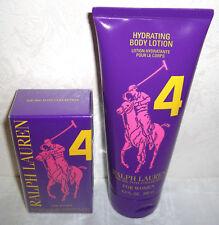 Polo RALPH LAUREN Big Pony lila 4 WOMEN Eau de Toilette 30 Hydrating Body LOTION