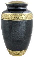 Adult Cremation Urn for Ashes funeral memorial urn large urn Grey urn adult urn