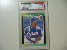 1989 Donruss Baseball's Best Sammy Sosa RC Rookie #324 graded PSA 10 Gem Mint