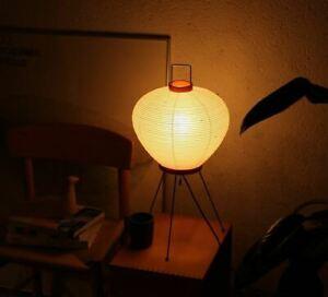 Isamu Noguchi AKARI Lantern 3A Floor Stand Lamps Handcraft Authentic