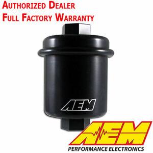 AEM 25-200BK High Flow Volume Fuel Filter for Honda Civic Accord - Acura Integra