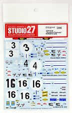 "Studio27 ST27-DC1137 Ferrari 512S ""Scuderia Filipinetti"" Decal for Fujimi 1/24"