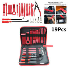 19Pc Car Fastener Trim and Panel Removal Tool Set For Car Audio System Dashboard