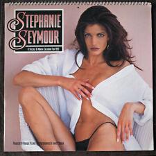Stephanie Seymour, Supermodel, Swimsuit Pinup,sexy, 1993 Calendar, good in 2021