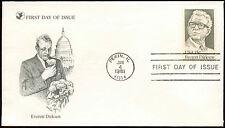 USA 1981 Everett Dirksen FDC First Day Cover #C19981