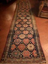 Tappeto antico Persiano Malayer - antique persian rug - 454 × 105 cm