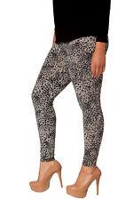 New Womens Plus Size Leggings Ladies Leopard Print Animal Trousers Sale Nouvelle