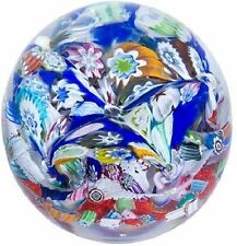 New boxed Caithness Glass Millefiori Fingal's Cave paperweight U17046