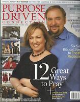 Purpose Driven Magazine Rick Warren Christian Adoption Prayer Recession DVD 2009