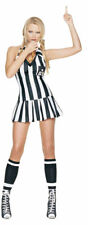 Morris Costumes Women's Referee Halter Mini Dress Costume M/L 8-14. UA83035ML