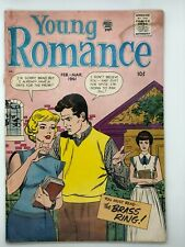 YOUNG ROMANCE #2 SILVER AGE PRIZE GROUP 1960 Comic Book