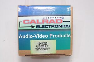 Calrad Electronics Video Digital Audio IR CAT5 Extender 40-YE01D Balun New NOS
