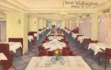 Albany New York interior view Hotel Wellington antique pc Z12620