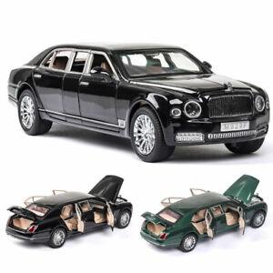 1:24 Bentley Mulsanne Limousine Model Car Metal Diecast Collection Boys Gift