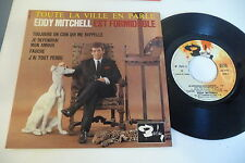 EDDY MITCHELL 45T EP .JE DEFENDRAI MON AMOUR.BARCLAY FRANCE 70687.