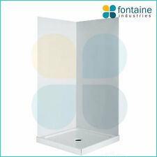 Shower Wall Lining Acrylic Waterproof Durable Seamless Mould Resistant Liner 900
