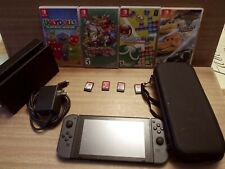 """Nintendo Switch"" 32GB Console With 8 Games & Carrying Case- EXCELLENT CONDITION"