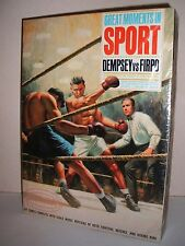 Aurora Dempsey vs Firpo Modèle Original Kit Factory SEALED U.S Box 1965 RARE