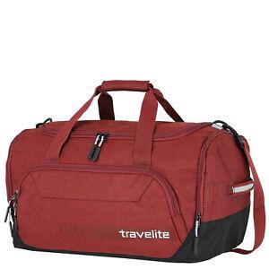 travelite KICK-OFF Reisetasche M 45L Rot Fitnesstasche Sporttasche NEU LEICHT