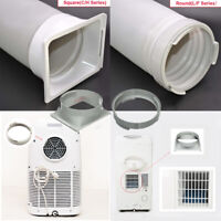 5.9'' Round/Square Air Conditioner Exhaust Hose Tube Adaptor For Portable Tube