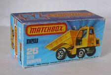 Repro box MATCHBOX superfast Nº 26 site tombereaux