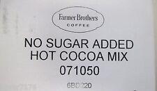 HOT COCOA  MIX SUGAR FREE  1  1LB BAGS FARMER BROS BRAND 71050