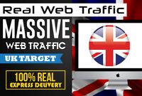 drive keyword targeted UK web traffic to  Website Traffic