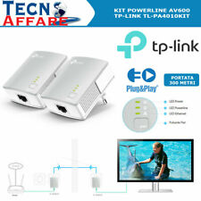 Kit Powerline AV600 Adattatore di Rete Ethernet 600Mbps TP-Link TL-PA4010KIT