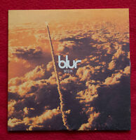 BLUR cd single M.O.R. cardboard 2 tracks Oasis Brit Pop Damon