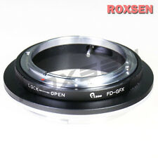 Canon FD mount lens to Fujifilm GFX G mount adapter Fuji GFX50S Pro camera