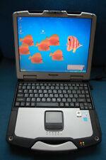LOADED Toughbook CF-30 - 64bit - 1000GB SSD Hybrid, 4GB, Win 10 Pro, DVD, WIFI