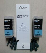Herculite Classic XRV Unidose A2 Composite by Kerr FRESH !!!