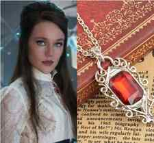 The Mortal Instruments City of Bones Isabelle Lightwood's Ruby Vintage Necklace